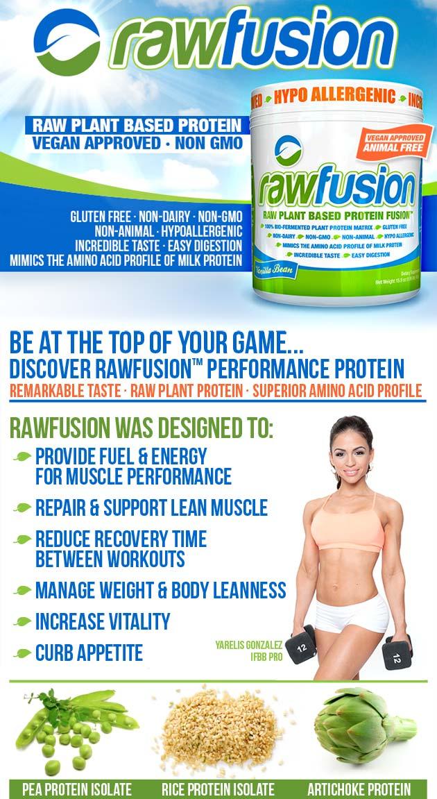 SAN Nutrition Raw Fusion
