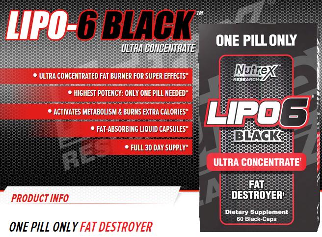 Lipo 6 Black Ultra Concentrate