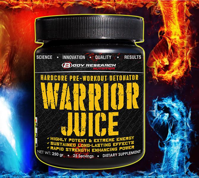 Body Research Warrior Juice