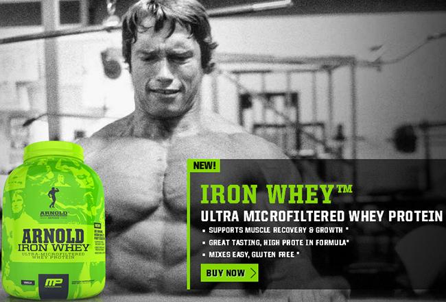 Arnold Iron Whey