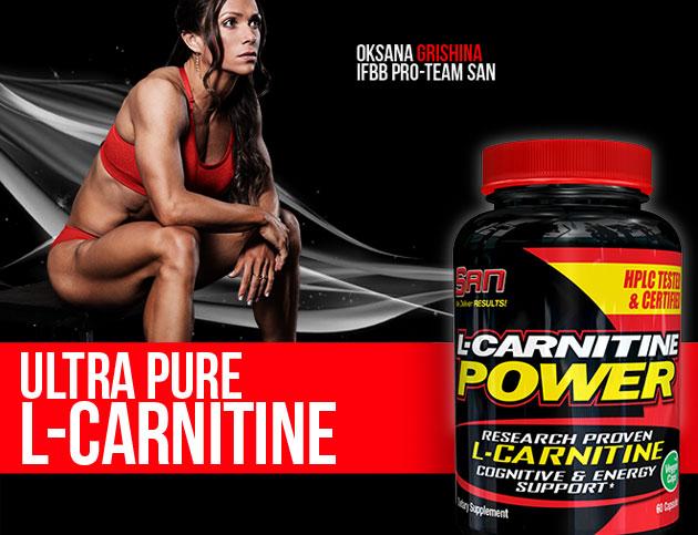 SAN Nutrition L-Carnitine Power