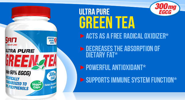 SAN Nutrition Ultra Pure Green Tea