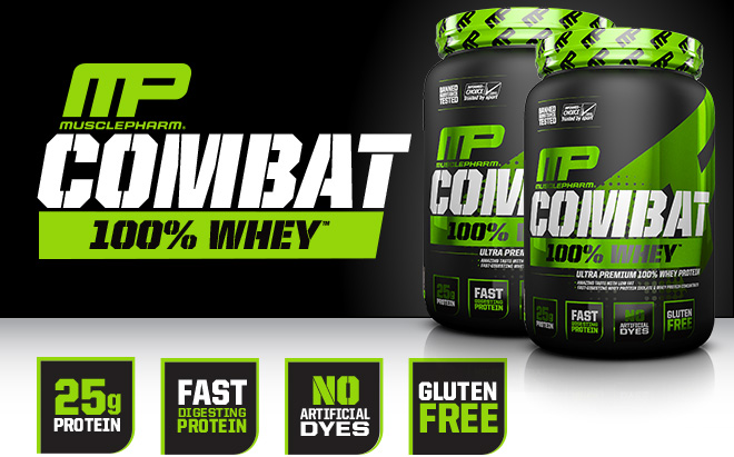 MP Combat 100% Whey