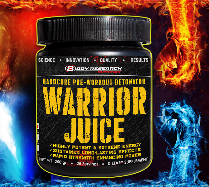 Body Research Warrior Juice