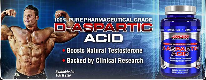 D-Aspartic Acid (AllMax)