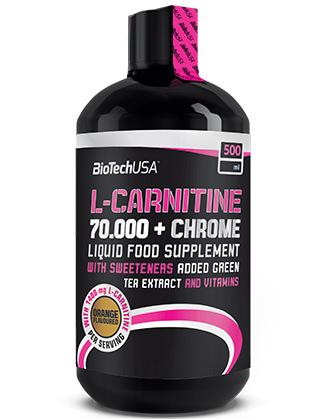 BioTechUSA L-Carnitine 70000 + Chrome