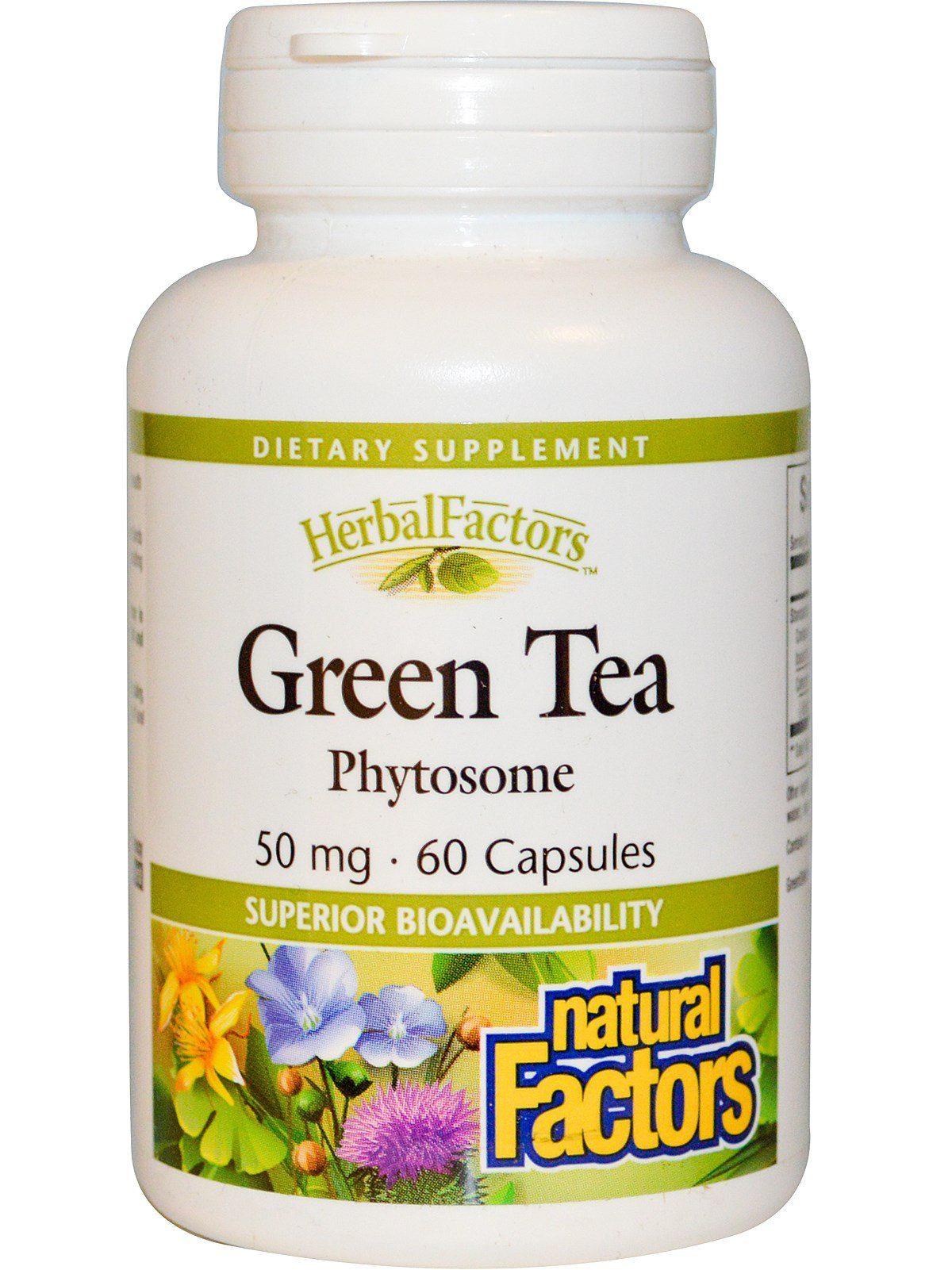 Natural Factors Green Tea