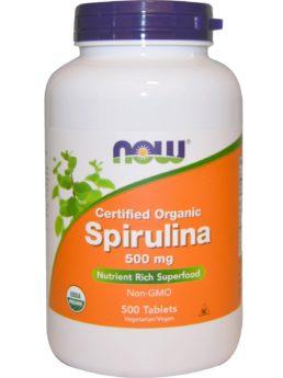 NOW Spirulina