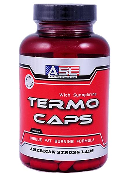 ASL Termo Caps - фетбърнър за бързо отслабване