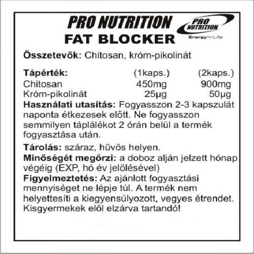 pro nutrition Fat Blocker