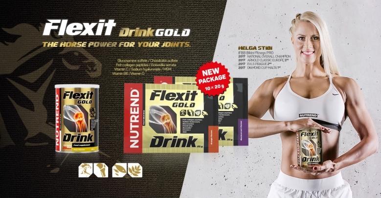 Nutrend FLEXIT GOLD DRINK banner