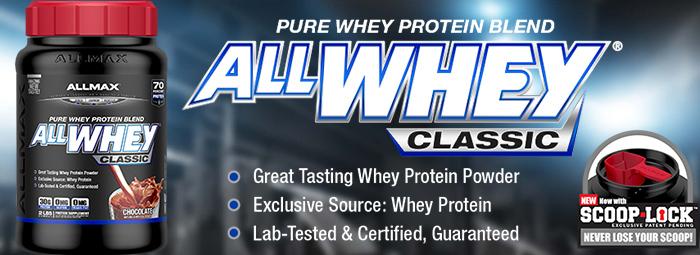 AllWhey Classic - протеиновата класика на AllMax