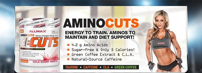 AminoCuts (A:CUTS) - енергийна напитка, обогатена с аминокиселини