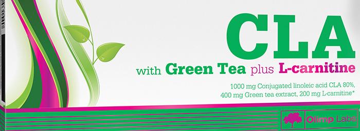 LA with Green Tea plus L-Carnitine - фетбърнър от ново поколение
