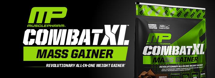 COMBAT XL Mass Gainer - бързо качване на маса