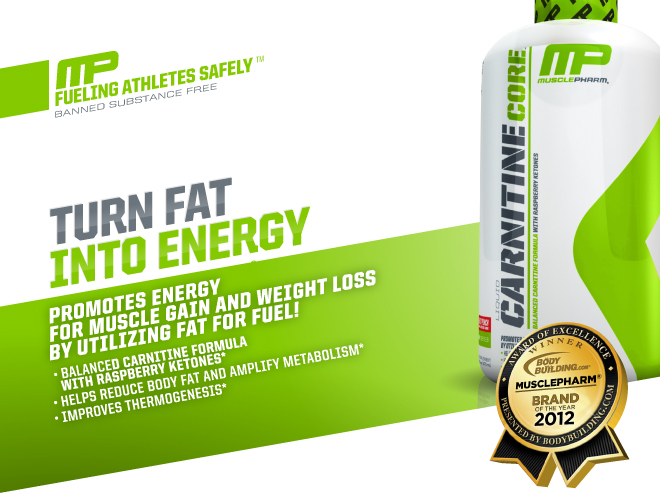 Muscle Pharm Carnitine Core Liquid