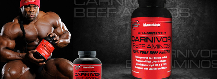 Carnivor Beef Aminos - Ултра-концентриран, 100% чист говежди протеин