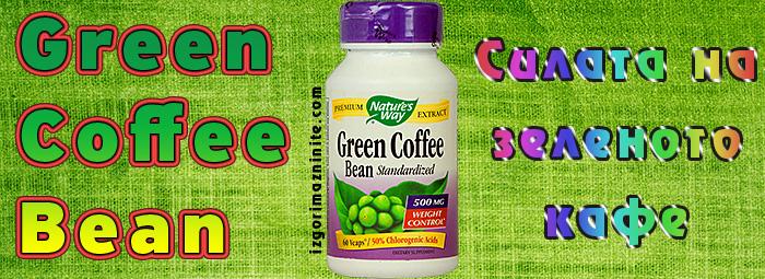 GREEN COFFEE BEAN – неподозираната сила на зеленото кафе