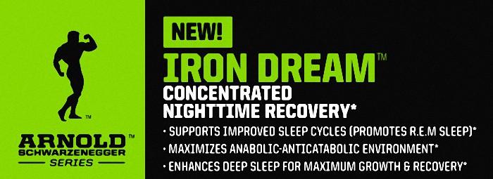 ARNOLD IRON DREAM – за добър сън и възстановявяне