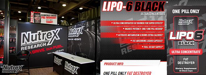 Lipo 6 Black Ultra Concentrate - най-мощния и ефективен фетбърнър