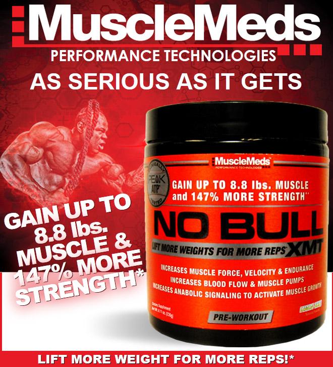 MuscleMeds No Bull XMT