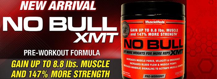 NO Bull XMT – истинско напомпване, истинска мощ