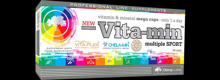 Vita-Min Multiple Sport - комплекс витамини и минерали