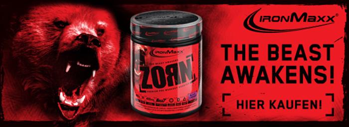 ZORN - Екстремният азотен бустер от IronMAXX