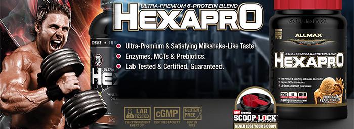 HexaprO - уникалната протеинова матрица от ALLMAX