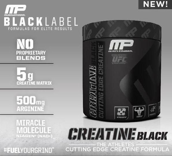 MusclePharm Creatine Black