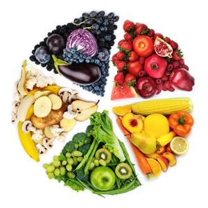 Цветовете на здртавословното хранене
