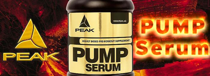 Pump Serum - напомпване по германски от PEAK