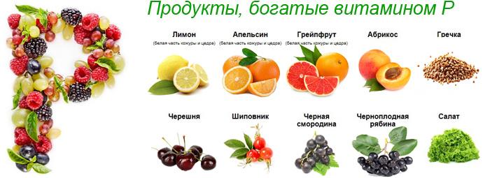 Витамин Р (биофлавоноид)