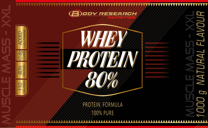 Body Research WHEY PROTEIN 80%