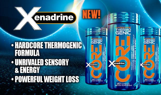 XENADRINE CORE – супер оръжие срещу мазнините