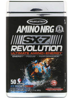 MuscleTECH Amino NRG SX-7 Revolution