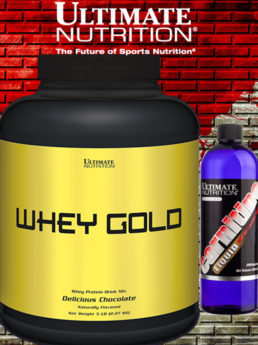 WHEY GOLD + CARNITINE LIQUID