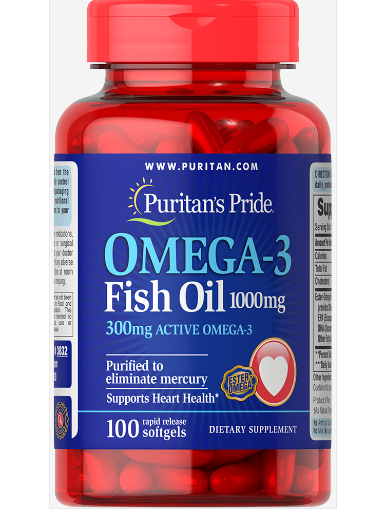 Puritan's Pride Omega-3 Fish Oil