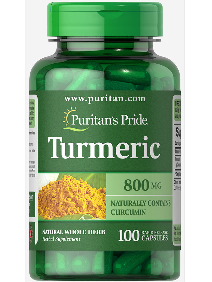 Puritan's Pride Turmeric