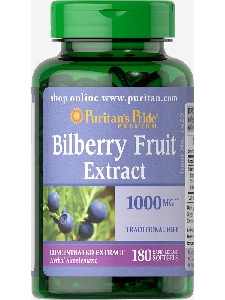 Puritan's Pride Bilberry Fruit Extract