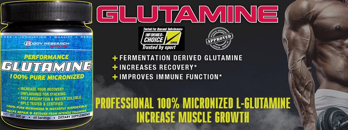 Body Research Glutamine banner