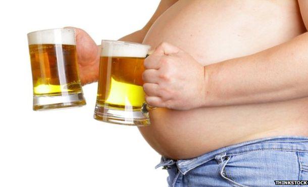 Как се пълнее от алкохол