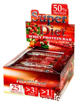 Super Diet 50% Protein Bar info