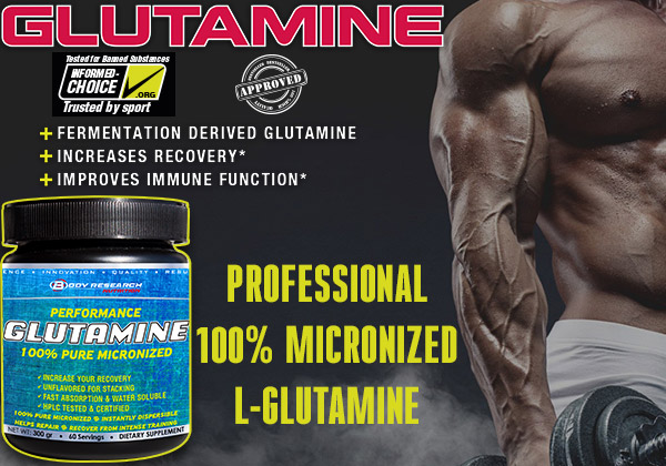 Body Research GLUTAMINE feat