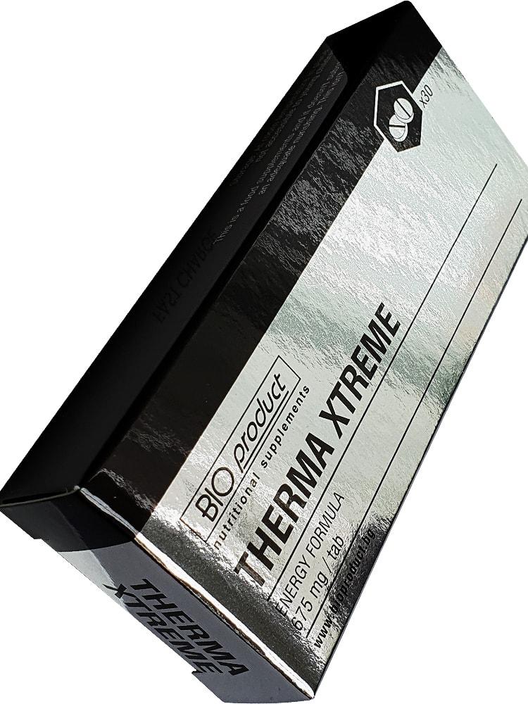 BIO product THERMA xtreme - мощен и ефективен фетбърнър