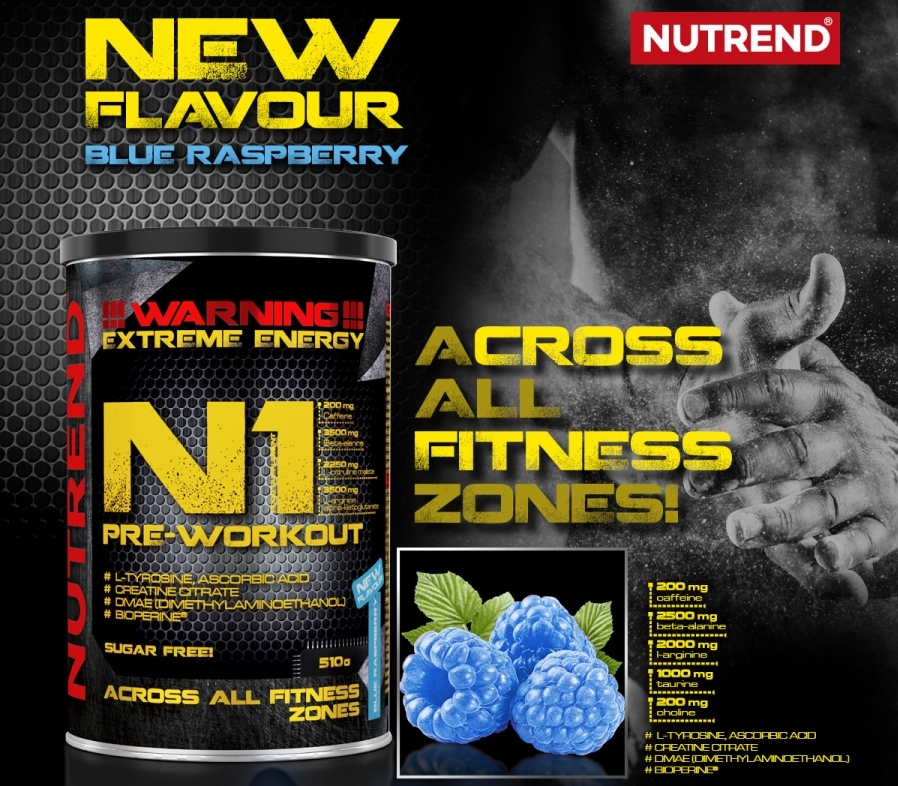 NUTREND N1 Pre-Workout banner1