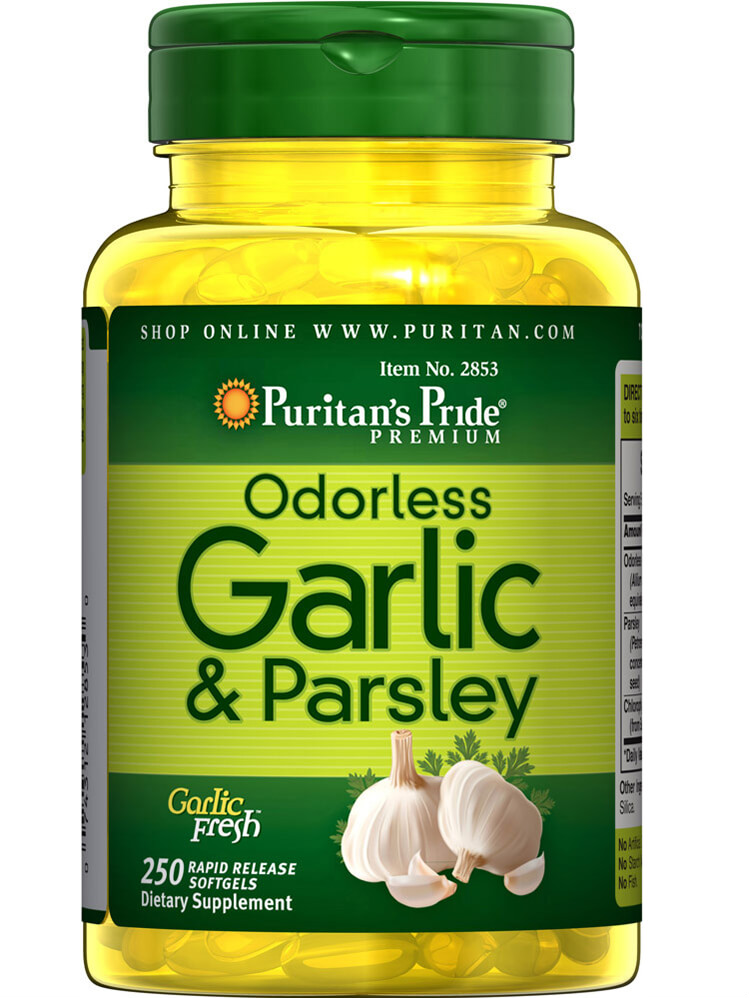 Puritan's Pride Odorless Garlic & Parsley