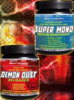 стак Demon Dust Reloaded + Super Mono