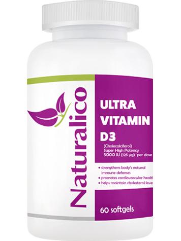 Naturalico VITAMIN D3 - 5000 UI