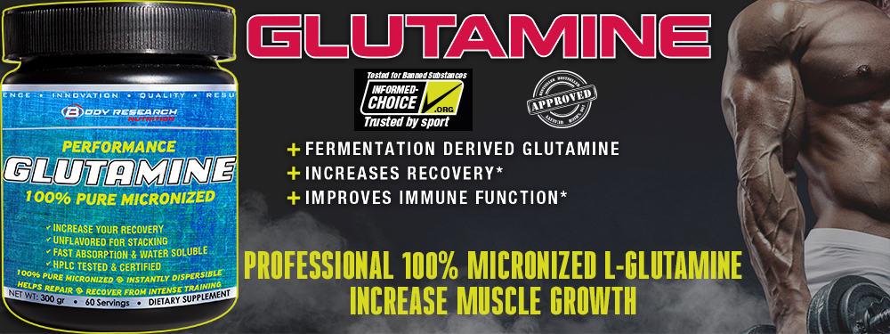 Body Research Glutamine banner